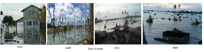 Ten-year time lapse of Abarao Village, South Tarawa