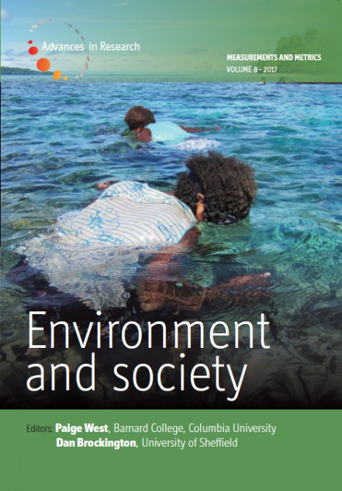 New Issue of Environment and Society!