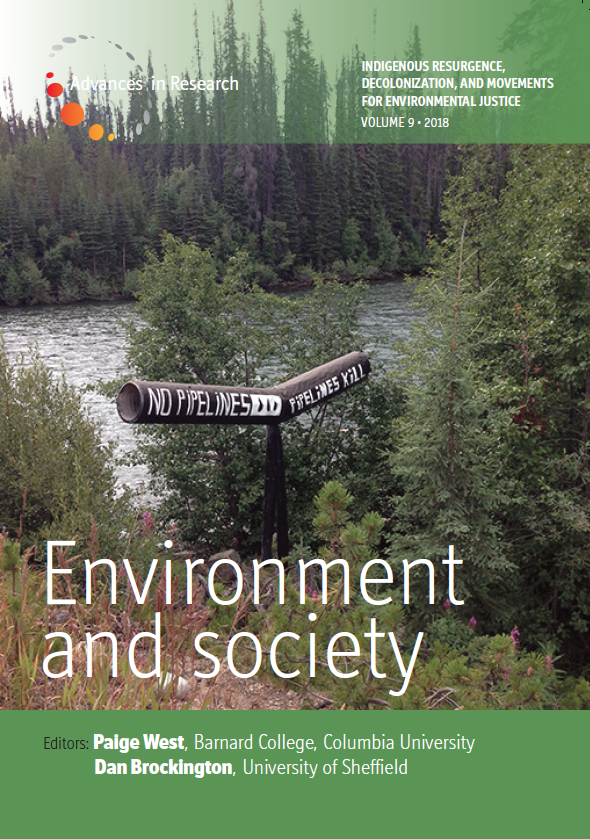 New Volume of Environment and Society!
